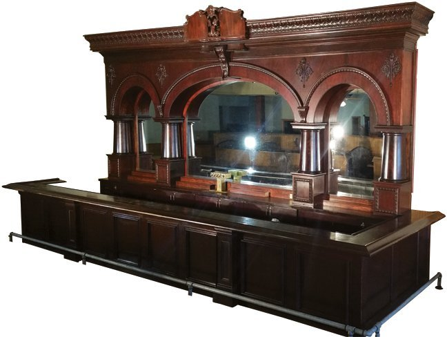 "Auto Auction Nj >> Brunswick ""Princess"" Saloon Back Bar"
