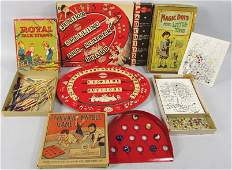 Collection of Vintage Childrens Games