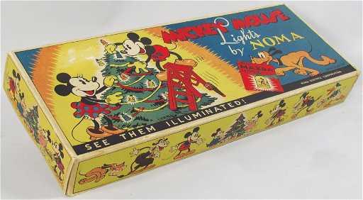 vintage mickey mouse christmas lights - Mickey Mouse Christmas Lights
