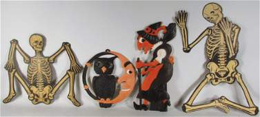 Four Halloween Decorations