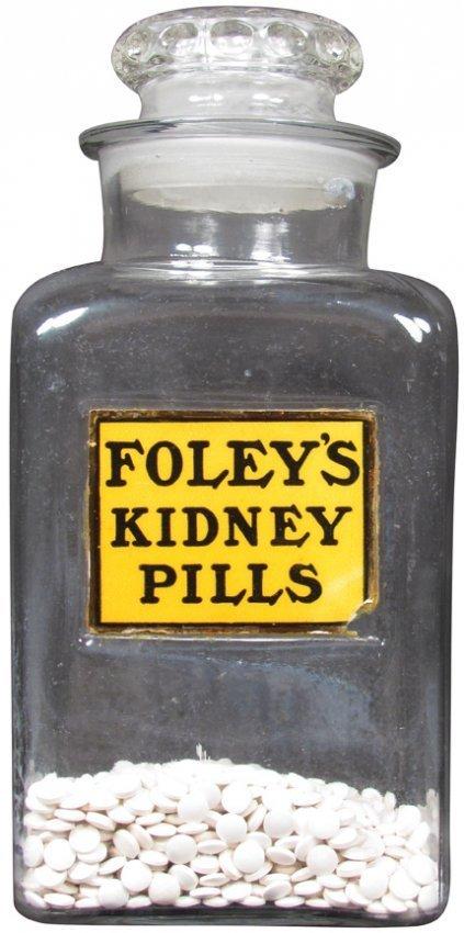 Foley's Kidney Pills Store Jar