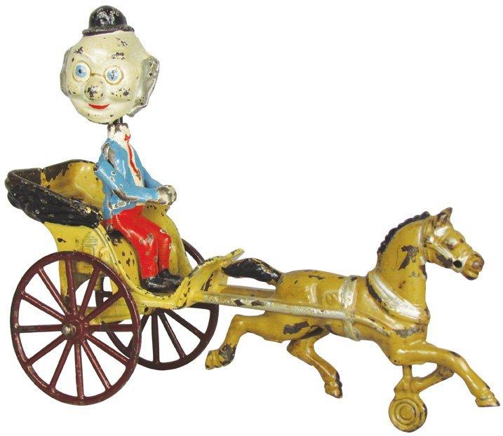 "Kenton ""Foxy Grandpa"" Nodder Wagon Toy"
