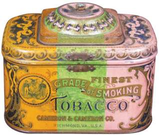 Dome Top Smoking Tobacco Tin