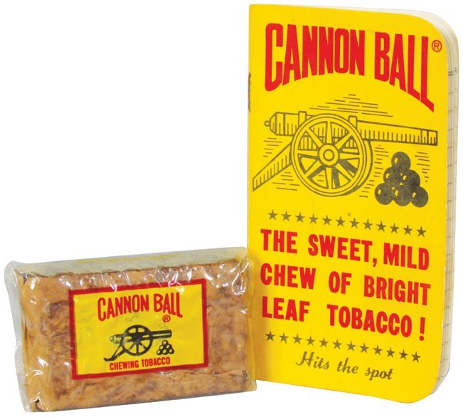 Cannonball Tobacco Notebook and Plug