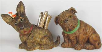 Two Early Composite Dogs