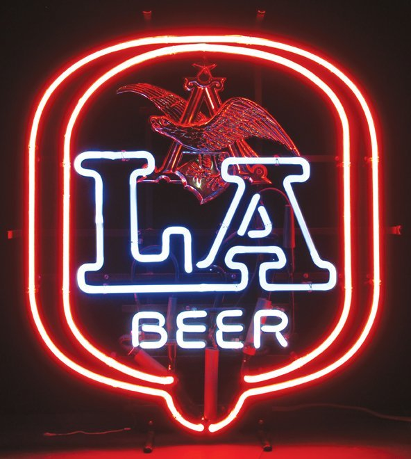 Anheuser Busch LA Beer Neon Sign - 2