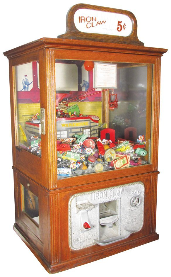 Exhibit Supply Co. Coin Operated Claw Machine
