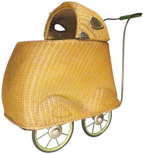 """Mary Lu Doll Cart"" Childs Doll Buggy"