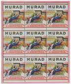 Murad Turkish Cigarettes Printers Proof  Tin
