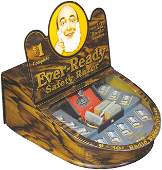Ever-Ready Safety Razor Tin Litho Store Display