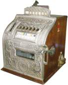 Rare Mills Check-Boy Slot Machine