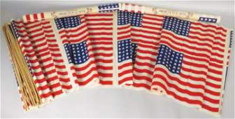 Three Childrens American Flag Sets
