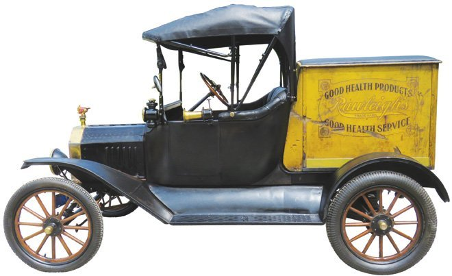 1915 Ford Model T Peddler's Truck