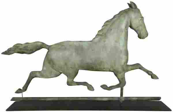 Running Horse Full Body Weathervane
