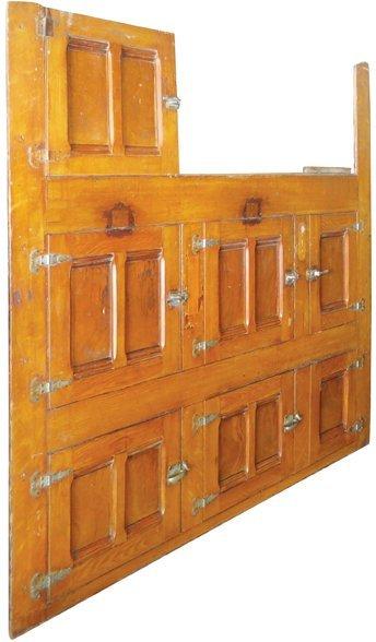 Oak Saloon Cooler Door Front Fascia