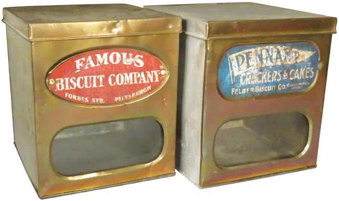Pennant & Famous Biscuits Store Display Boxes