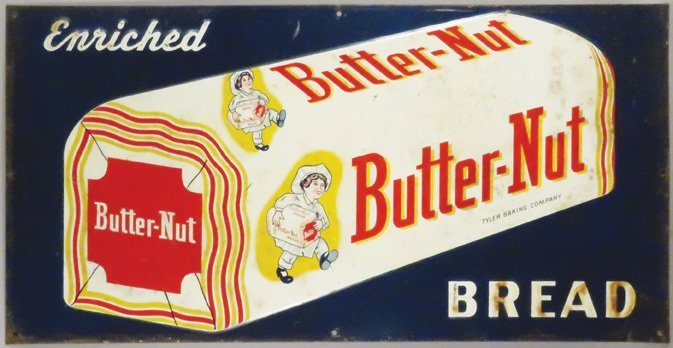 Butter Nut Bread Tin Sign