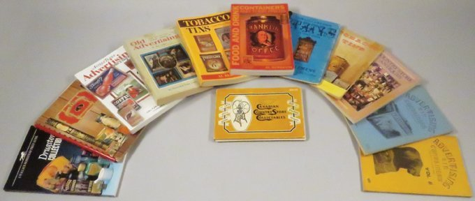 Collection of 12 Advertising Reference Books