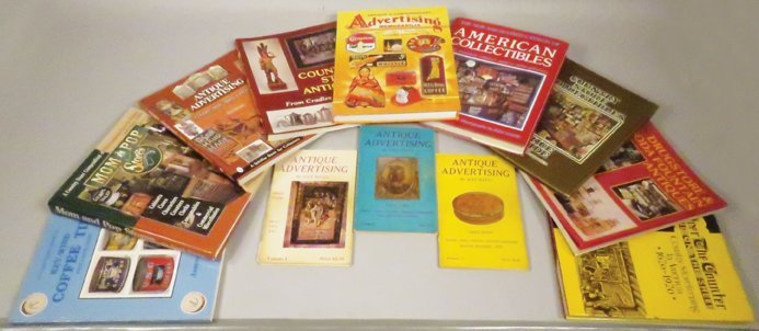 Collection of Twelve Advertising Reference Books
