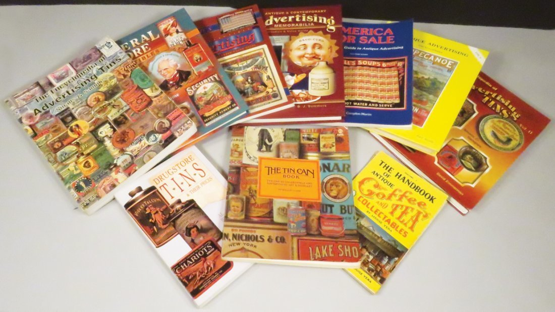 Collection of Ten Advertising Reference Books