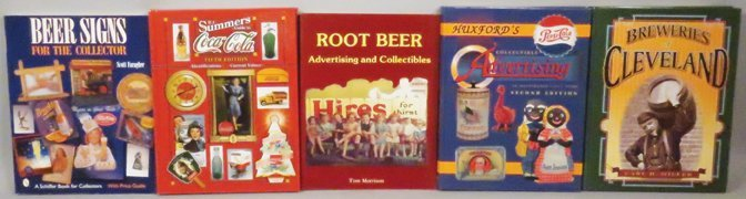 Collection of 5 Advertising Reference Books