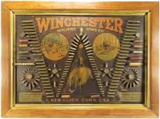 """Winchester """"Single W"""" Bullet Board"""