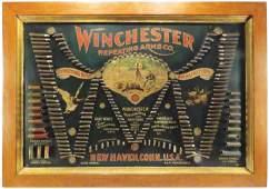 """Winchester """"Double W"""" Bullet Board"""