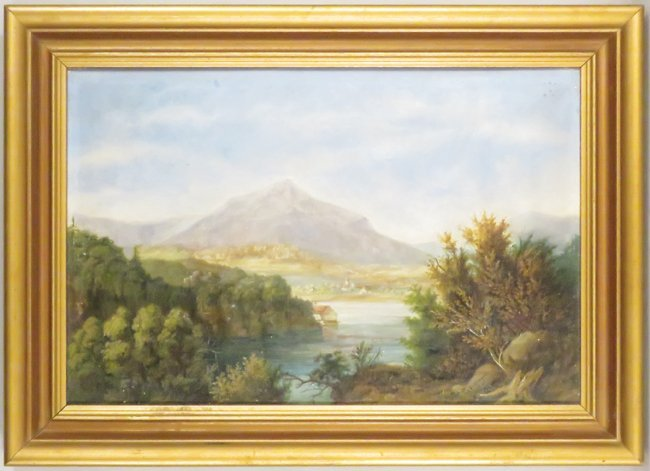 Andreas Felbinger 1881 Oil on Canvas Painting