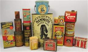 Collection of Country Store Grocery Related Items