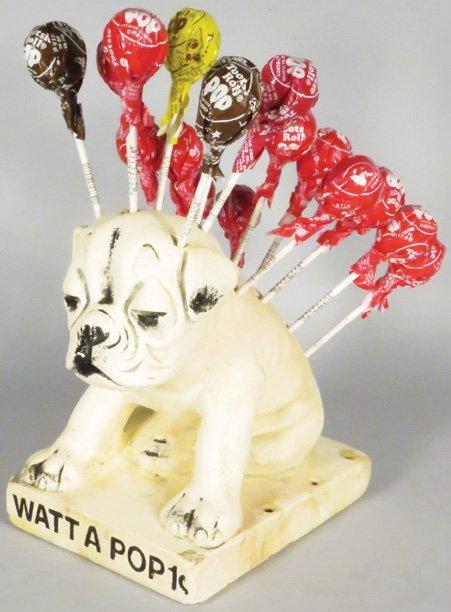 Watt A Popp Chalkware Display