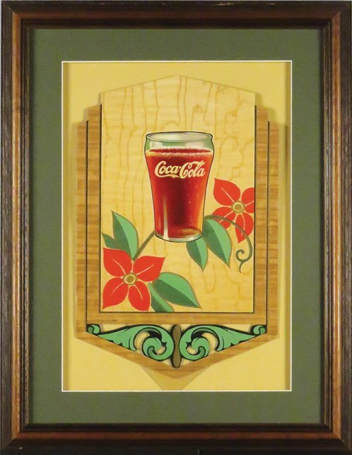 Coca Cola Festoon, Art Deco - 2
