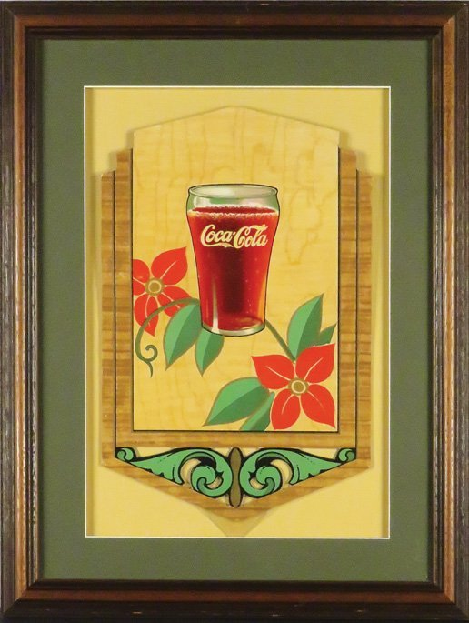 Coca Cola Festoon, Art Deco - 3