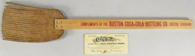 Coco Cola Coupon and Fly Swatter - 2
