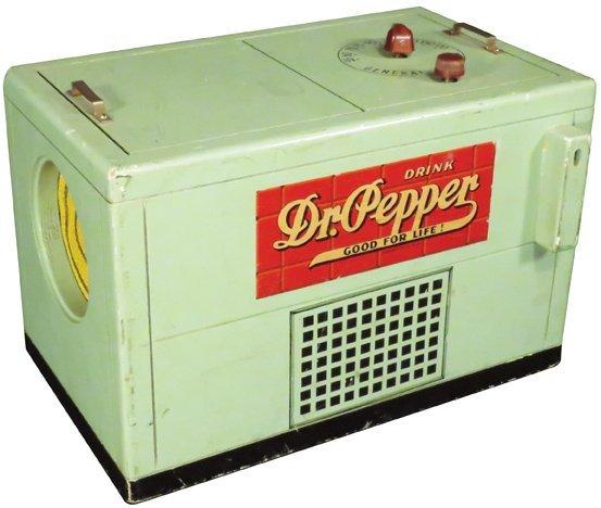 Dr. Pepper Cooler Shaped Radio