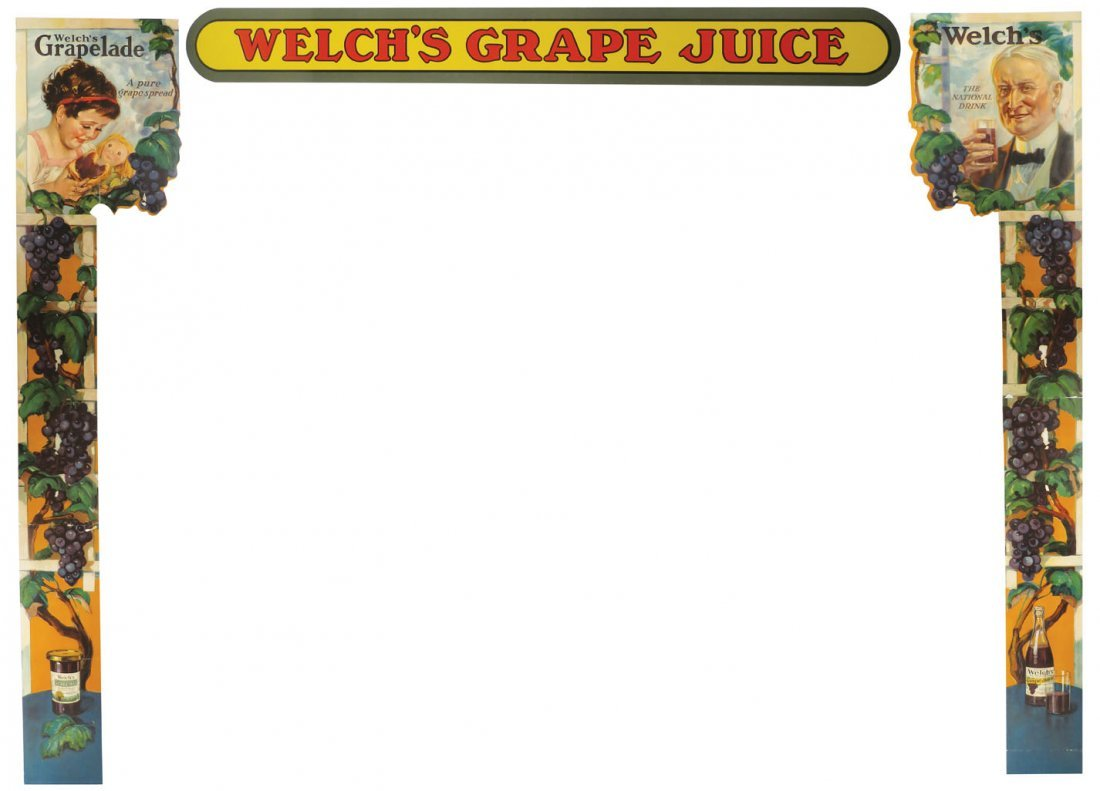 Welch's Large Window / Exhibition Paper Display