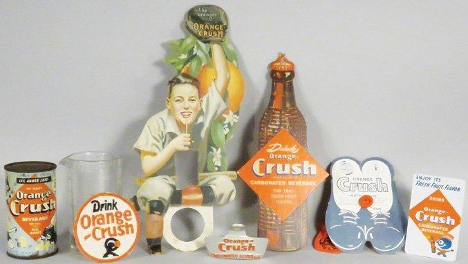 Collection of Orange Crush Items