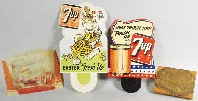 Collection of 7-Up Advertising Items