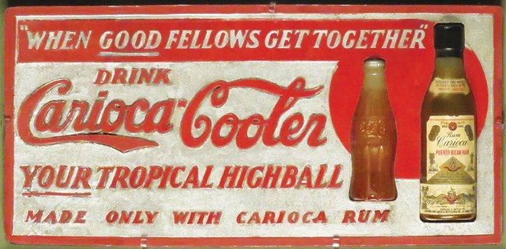 Rare Rum and Coco-Cola Dimentional Sign