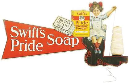 Rare Swift's Pride Washing Powder String Holder