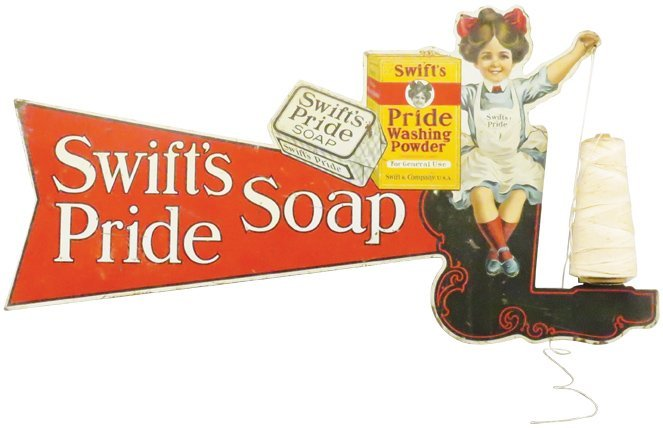 Rare Swift's Pride Washing Powder String Holder