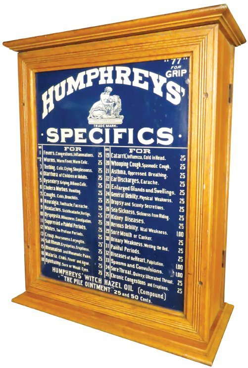 Humphreys' Specifics Homeopathic Cabinet