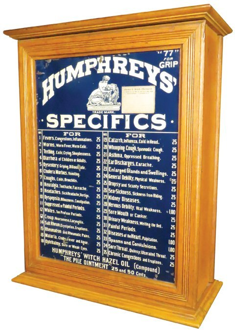 Humphreys' Specifics Homeopathic Cabinet - 2