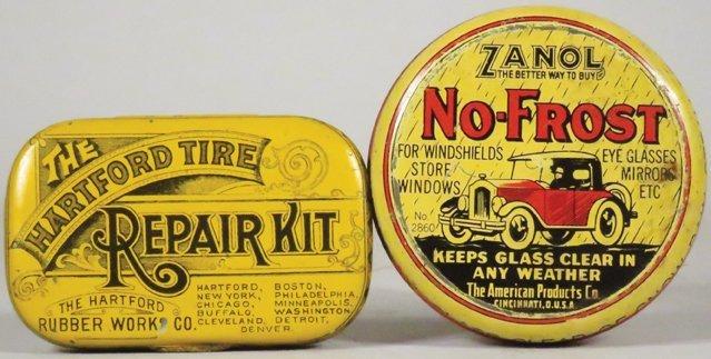 Two Petroliana Advertising Tins