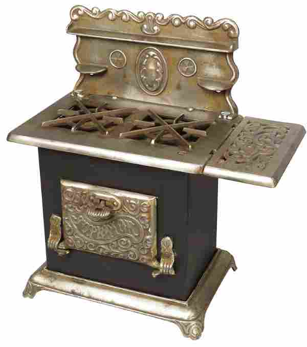 """Child's / Doll """"Superior"""" Gas Cook Stove and Oven"""