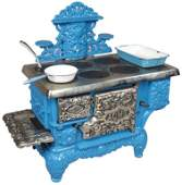 """Child's / Doll """"Acme"""" Cook Stove"""