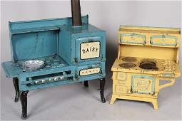 Two Child's / Doll Cook Stoves