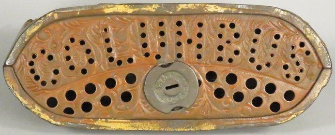 World's Fair Cast Iron Mechanical Bank - 3