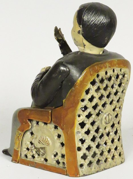 Tammany Cast Iron Mechanical Bank - 2