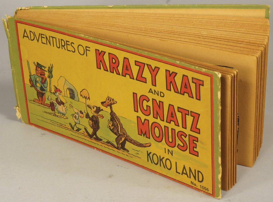 Adventures of Krazy Kat and Ignatz Mouse Book