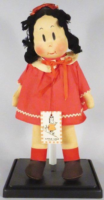 Original 1940's Little LuLu by Marge Rag Doll